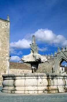 Fuente del Monasterio de las Huelgas Reales, Burgos