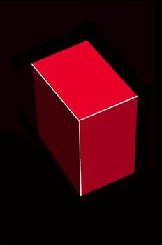 Prisma recto de base rectangular