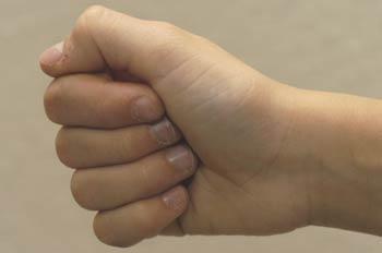 Lenguaje gestual, A