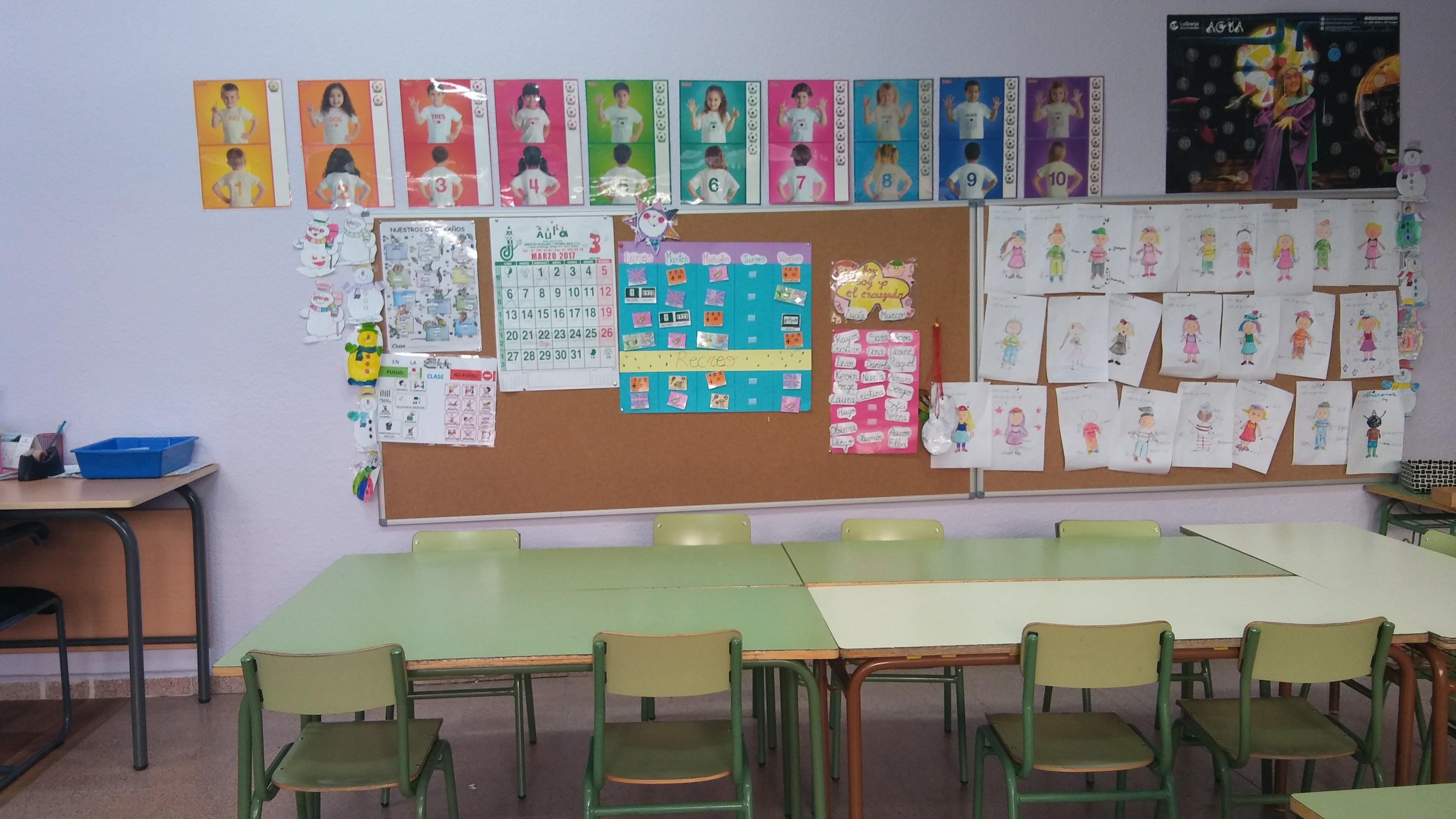 Aulas de Primaria 5