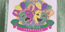 """Proyecto: Taller de Teatro y marionetas"""" .Jarama Rivas. Ed. Física Primaria."""