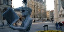Monumento La Fuente de la Sabiduría, Lovaina, Bélgica