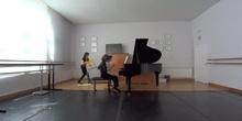 Fantasia Schubert 4 manos Cristina Tomescu Saioa Martin