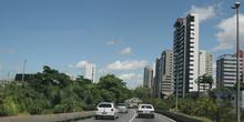 Puentes sobre el río Beberibe, Recife, Pernambuco, Brasil