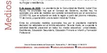 Instrucciones Comunidad de Madrid
