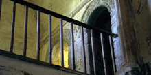 Tribuna e la iglesia de San Miguel de Lillo, Oviedo, Principado
