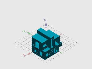Diseño 3D casa SA