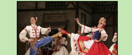 """Estudio de las características rítmicas y melódicas del repertorio de la clase de danzas de carácter. Tarantela """"Napoli"""""""