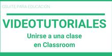 Unirse a una clase en Classroom