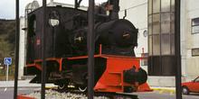 Máquina de tren a vapor, Museo de la Minería y de la Industria,