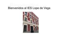 IES LOPE DE VEGA:Jornadas Puertas Abiertas 1º ESO.