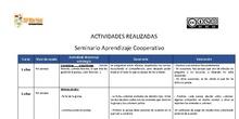 Actividades cooperativo Villar Palasí