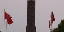 Obelisco en Plaza del 7 de Noviembre, Túnez