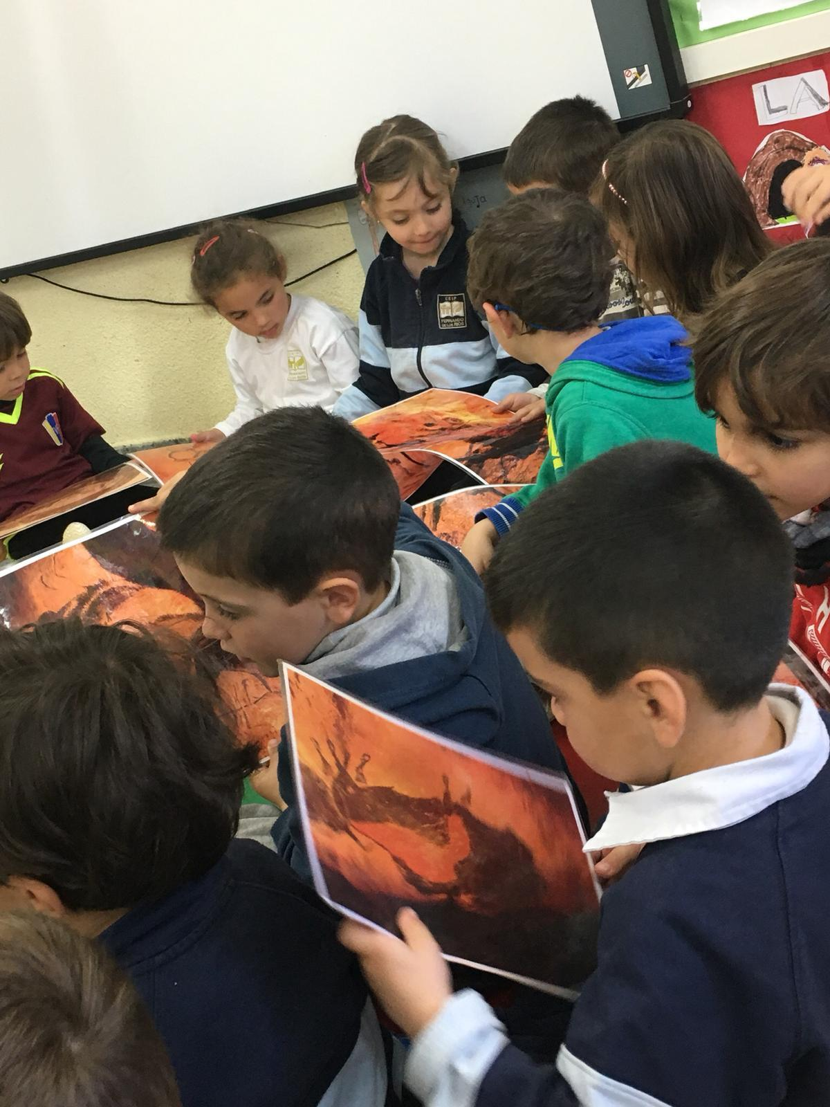 2019_03_15_Infantil 4B descubre la pintura rupestre_CEIP FDLR_Las Rozas