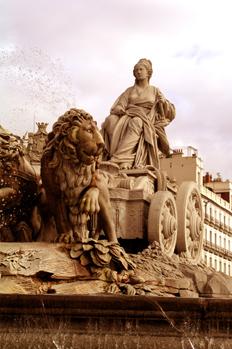 Fuente de la Diosa Cibeles, Madrid