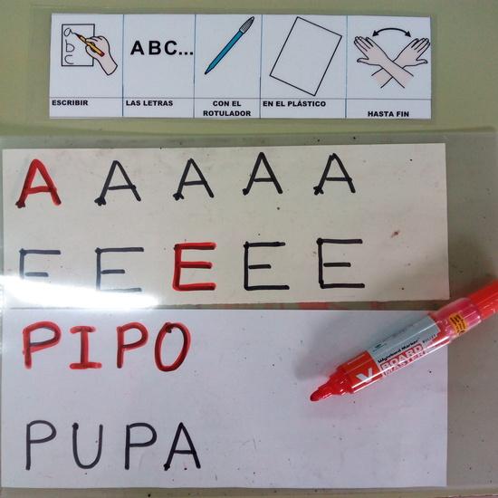 Seminario:material manipulativo para infantil y primaria adaptado a alumnos con T.E.A. 66