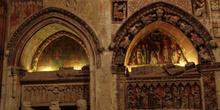 Sepulcros góticos, Catedral Vieja de Salamanca, Castilla y León