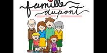 SECUNDARIA - 1° ESO - LA FAMILLE DUPONT - FRANCÉS - FORMACIÓN