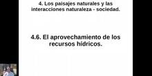 0406 El aprovechamiento de los recursos hídricos en España