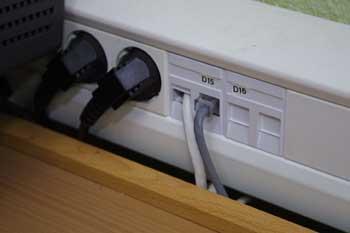 Cable de conexión a Internet