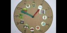 Nuestros relojes de tercero de Primaria