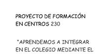 "MATERIALES PFC 230 ""APRENDEMOS A INTEGRAR MEDIANTE EL LENGUAJE DE SIGNOS"""