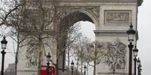 Arco del Triunfo de París, Francia