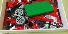 Lego WeDo: primeros programas y listas de piezas - Grabado con bq Android (grupo 3)