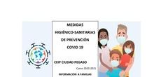 MEDIDAS HIGIÉNICO SANITARIAS CEIP CIUDAD PEGASO