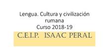 Lengua, civilización y cultura rumana 18-19