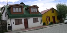 Casas de la ciudad de Ushuaia, Tierra del Fuego, Argentina
