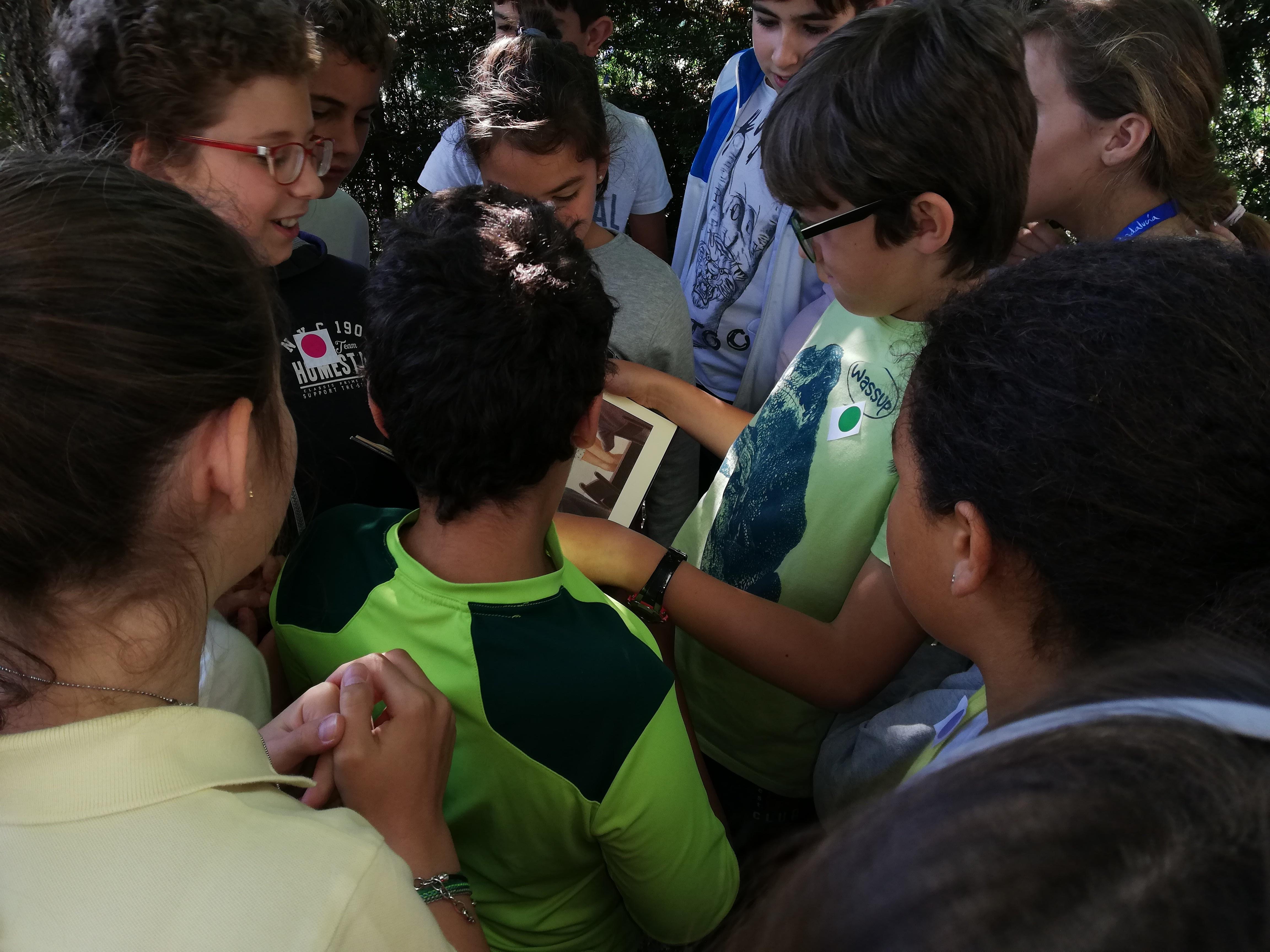 "Visita Bilioteca ""Luis Rosales"". 5ºA 6"