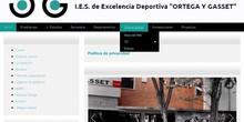 Solicitar nueva contraseña en Educamadrid (IES Ortega y Gasset)