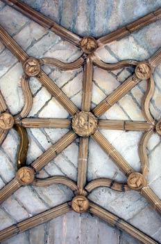Bóveda del Claustro Antiguo del Monasterio de Irache, Ayegui, Co