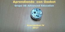 "#cervanbot IV: ""Seguridad vial con Ozobot"" (grupo 2) con Grupo AE Advanced Education - Grabaciones realizadas por alumn@s"
