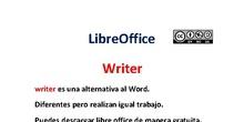 PRIMEROS PASOS EN WRITER