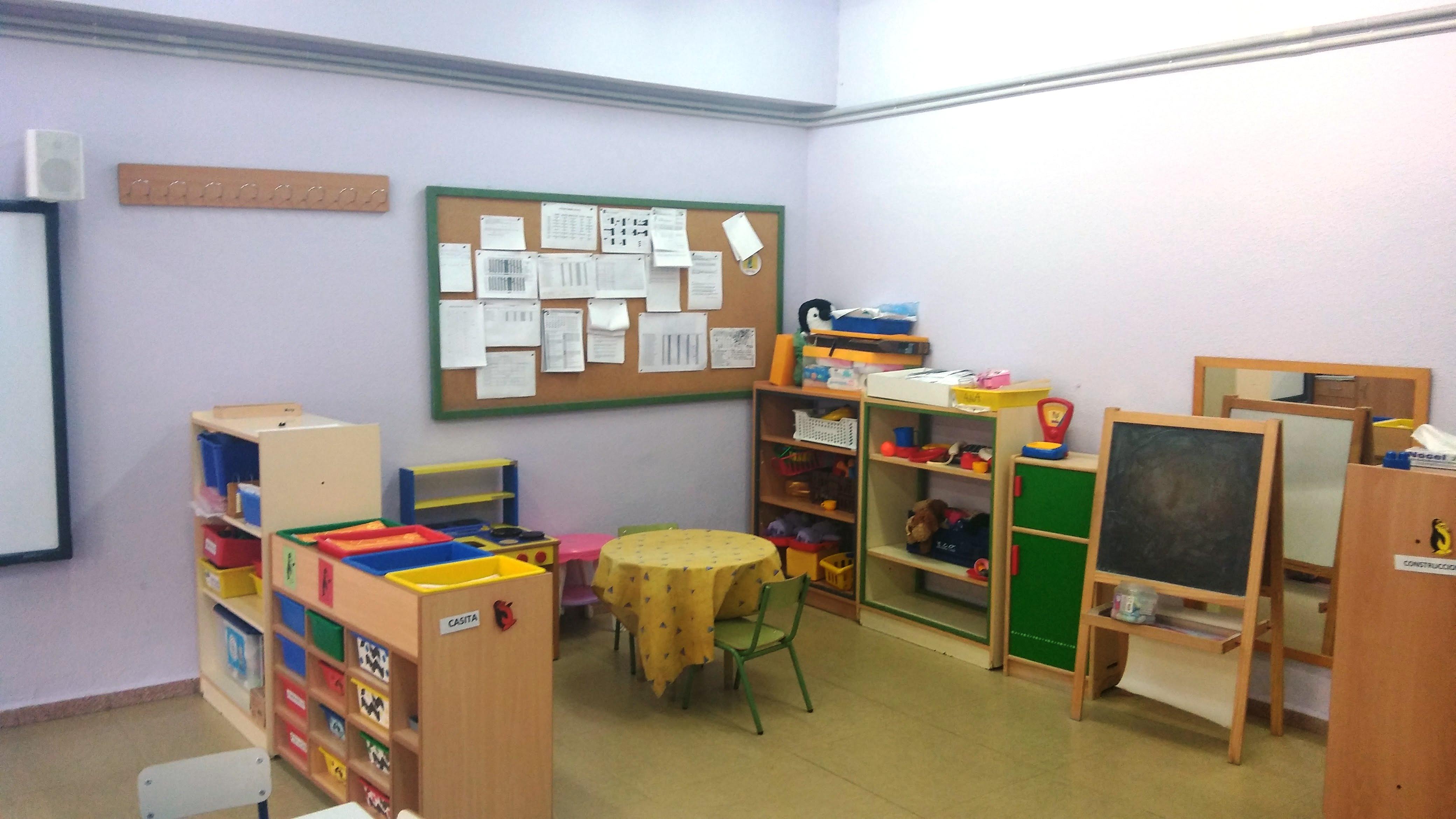 Aulas de Infantil 3