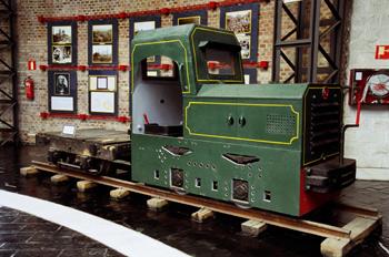 Locomotora de interior, Museo de la Minería y de la Industria, E
