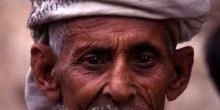 Retrato de hombre con turbante, Yemen