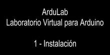 1 - Ardulab - Instalación