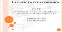 PEAC Madrid Sur 2014-2015 - La radio en otra dimensión