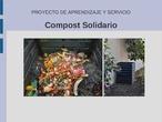 Compostaje Solidario. Proyecto Aprendizaje y Servicio