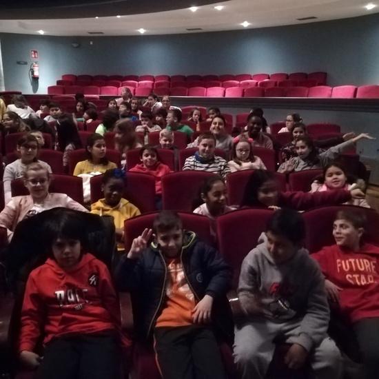Visita al teatro de 4º y 5º de Primaria 5