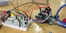Montaje en arduino uno de sensor de temperatura y ventilador