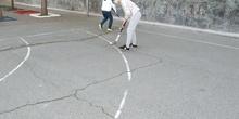 Visita de la Federación Madrileña de Hockey