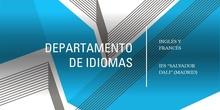 """Vídeo de presentación del Departamento de Idiomas - IES """"Salvador Dalí"""" (Madrid)"""
