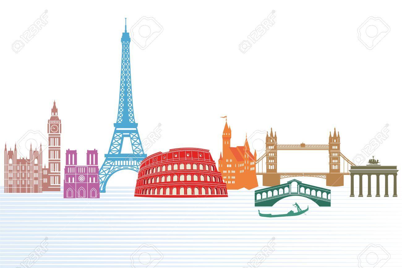 fotos edificios de Europa para pintura patio 9