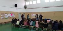 Visita del Alcalde de Torrejón de Ardoz al CEIP Andrés Segovia