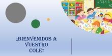 Bienvenidos a nuestro colegio, familias y alumnos de 3 años.