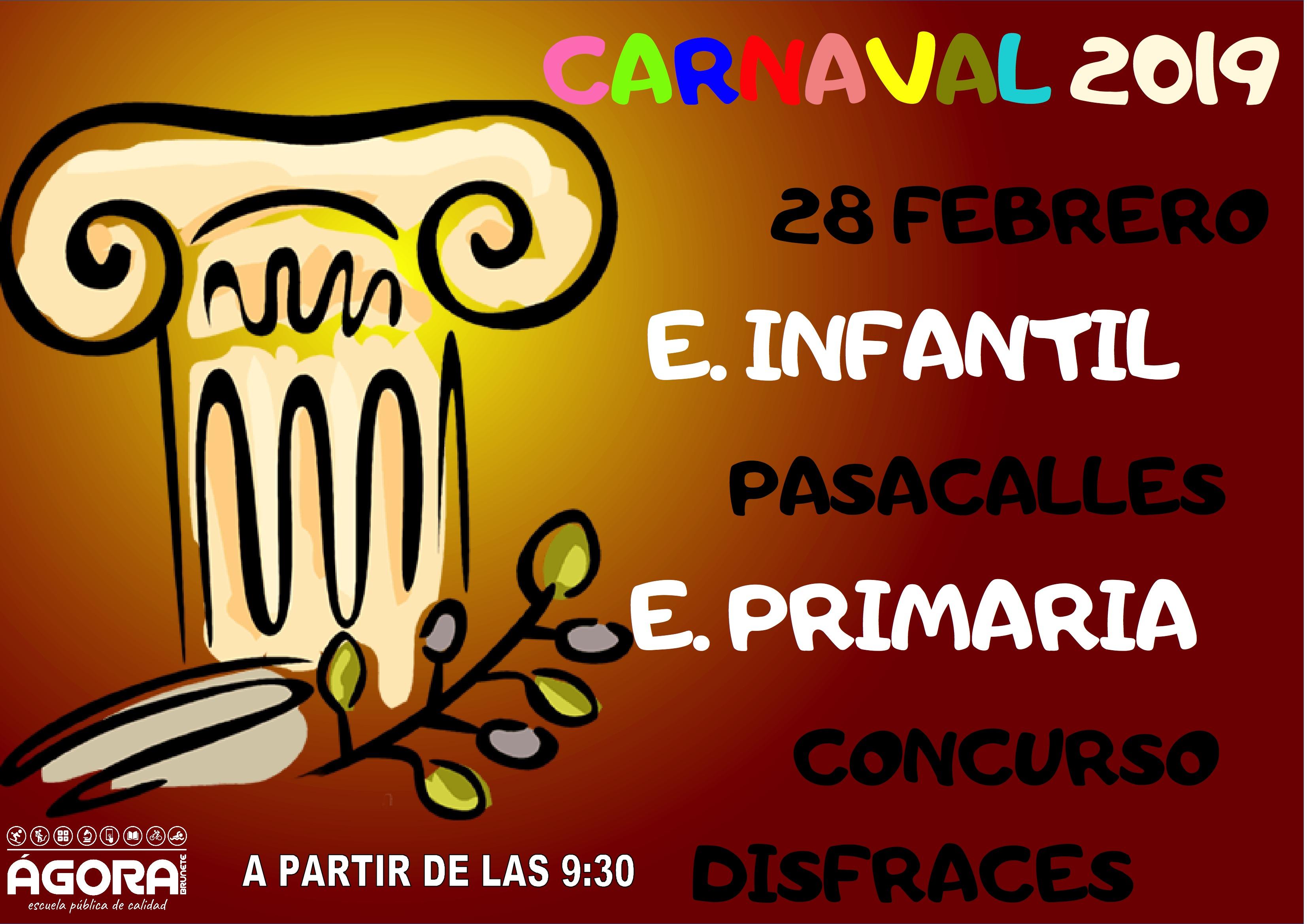 Carnaval 2019 E. Primaria Ceip Ágora de Brunete 6